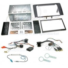 Connects2 CTKAU02 Audi A4 B6 2002 - 2006 Complete Double Din Fitting Kit
