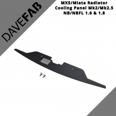 DAVEFAB Radiator Cooling Panel To Fit Mazda MX5 MK2 / 2.5