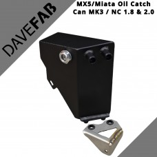 DaveFab Miata Oil Catch Can To Fit Mazda MX5 MK3 NC 1.8 & 2.0  New In