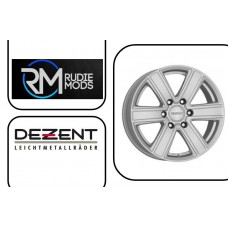 FORD RANGER 07-12 Dezent TJ Silver Matt Finish 8.0x18 Set Of Four Wheels