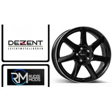 "Dezent TW Black Polished 16"" Alloy's To Fit Fiesta ST 2017 Onwards New In"
