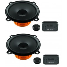 "Hertz Dieci DCX130.3 5.25"" 13cm 2 Way Coaxial Speakers"