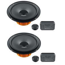 "Hertz Dieci DSK165.3 17cm 6.5"" 2 Way Component Speakers"