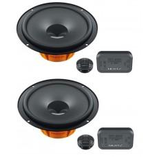 """Hertz Dieci DSK165.3 17cm 6.5\"""" 2 Way Component Speakers"""