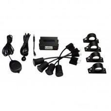 Echomaster SA-US4 Left turn and cyclist Side Scan Sensor Detector Kit