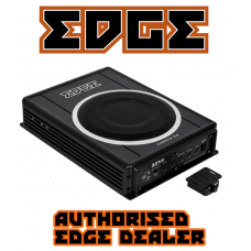 "EDGE Car Audio EDB8CA 8"" Active Amplified Underseat Car Subwoofer"