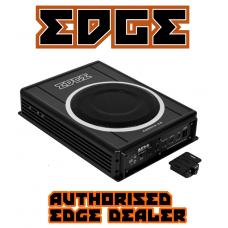 "EDGE Car Audio EDB8CA 8"" Active Amplified Underseat Car Subwoofer"