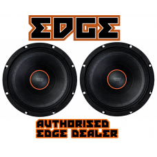"EDGE Car Audio EDPRO8E 1 Pair 8"" Street Bass mid woofers 250w RMS each 4 ohm"