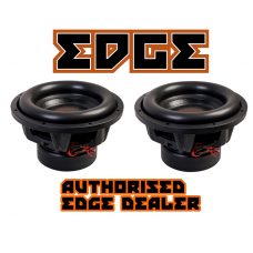 "Edge Car Audio BIG SPL Twin 12"" Subwoofer package - 9000w Peak Power !"