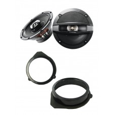 Audi A3 2003 - 2012 Focal 17cm Front Door Speaker Upgrade Kit