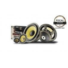 "Focal Elite K2 ES165KX3 165mm 6.5"" 3 Way Car Stereo Component Speakers 240 Watts"