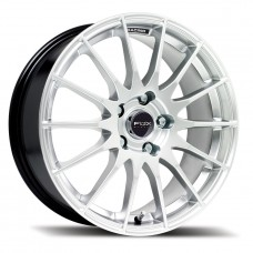 "Fox FX004 5.5x14"" silver Alloy Wheels - Set of 4"