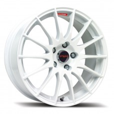 "Fox FX004 5.5x14"" white Alloy Wheels - Set of 4"