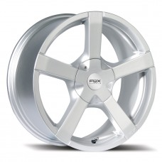 "Fox FX1 5.5x14"" Alloy Wheels - Super Silver - Set of 4"