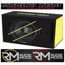 "New Ground Zero GZIB 3000XSPL 12"" 1000W Active Car Bass BoxSubwoofer Enclosure"