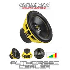 """Ground Zero GZHW 38SPL 15"""" Car Audio SPL Sub Subwoofer 3500w dual 1 ohm"""