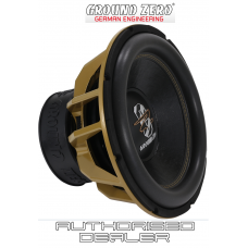 "Ground Zero GZHW 38SPL GOLD 15"" Car Audio SPL Sub Subwoofer 3500w dual 1 ohm"