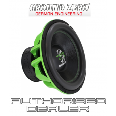 "Ground Zero GZHW 38SPL GREEN 15"" Car Audio SPL Sub Subwoofer 3500w dual 1 ohm"