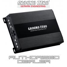 Ground Zero Iridium GZIA 4115HPX-II 4 channel car audio amplifier 4x70w RMS