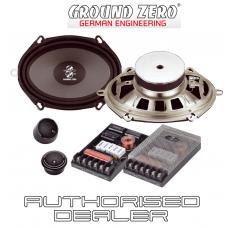 """Ground Zero GZRC 6857X 5""""x7"""" 6""""x8"""" 2 way car component speaker set 120w RMS"""