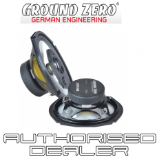 "Ground Zero Radioactive GZRC 69AL 6""x9"" 3 way triaxial car speakers inc grilles"