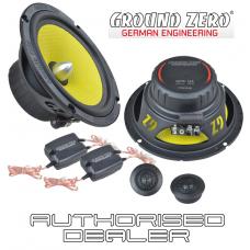 "Ground Zero Titanium GZTC 165 6.5"" 16.5cm 2 way car component speakers 100w RMS"