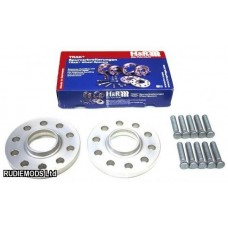 H&R 10mm Hubcentric Wheel Spacers Honda Civic 5x114.3 EP1 EP2 EP3 EP4 01-06