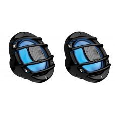 "Hertz HMX 6.5 S 6.5"" 2-Way Coaxial Powersport Marine Audio Speaker Inc RGB LED"
