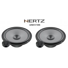 """Hertz UNO K165 - 6.5"""" 16.5cm 2-Way Car Audio Component Speakers 300W"""