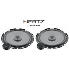 "Hertz UNO K170 - 17cm 6.7"" 2-Way Car Audio Component Slim Fit Speakers 280W"