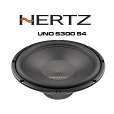 "Hertz UNO S300 S4 - 12"" Car Audio Subwoofer 1000W"