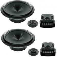 "Hertz Energy ESK165.5 17cm 6.5"" 2 Way Component Speaker Set 300w"