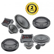 "Hertz Mille Pro MPK163.3 3 Way Component Car Speakers 6.5"" 3"" 1"" inc grills"