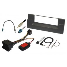 InCarTec FK-115-Q BMW E39 5 Series Single Din Fitting Kit - Quadlock