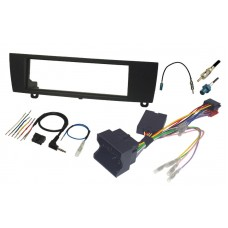 InCarTec FK-118 BMW 3 Series E90 E91 E92 E93 Single Din Car Stereo Fitting Kit