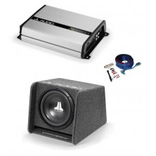 "JL Audio CP112 12"" Sub and Box and JL Audio Sub Bass Amp JX250/1D package"