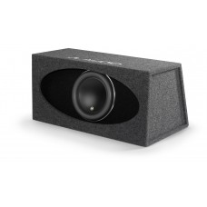 HO112R-W7AE: Single 12W7AE H.O. Wedge, Ported, Subwoofer Box 3 Ω