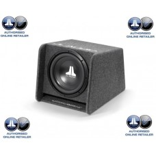 "JL Audio CP112-W0v3 12"" Sub Woofer and JL Slot Port Box Bass Wedge"