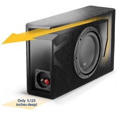JL AUDIO JLCP108LG-W3v3 One 8W3v3-4, Slot-Ported Low-Profile Enc