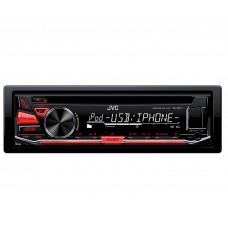 JVC KD-R671 Single Din Car Stereo CD MP3 AUX iPod iPhone Android
