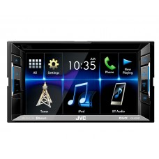 JVC KW-V230BT Double Din Car Stereo FM USB AUX iPod iPhone Android Spotify