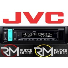 JVC KD-R491 CD with Front USB, Aux, FLAC & Variable Colour Display Car Radio