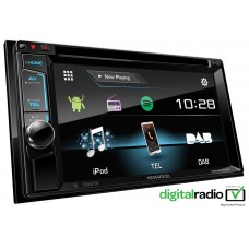 Kenwood DDX4017DAB Double Din Car Stereo FM USB AUX DAB iPhone Android Spotify