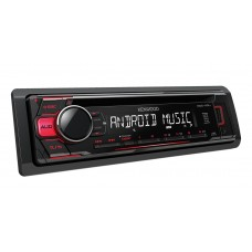 Kenwood KDC-110UR Car CD Player with MP3 Aux In USB Android RED buttons