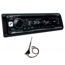 Kenwood KDC-BT700DAB Car Radio Stereo DAB+ CD MP3 USB BT Digital + Roof Aerial