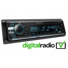 Kenwood KDC-X7200DAB Single Din Car Stereo CD FM AUX USB DAB iPod / iPhone