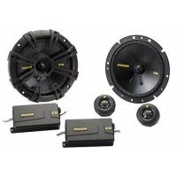 "Kicker 40CSS674 6.5"" 165mm Car Component Speakers 300w 1 Pair inc grilles"
