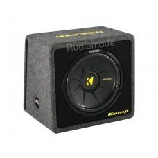 """Kicker 40VCWS124 CompS 12"""" Passive Car Audio Subwoofer Enclosure - 300w RMS"""