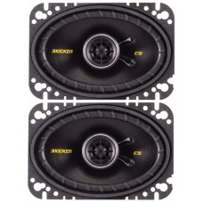 "Kicker 43CSC464 6""x4"" Car Speakers 2 way 150w 1 Pair"
