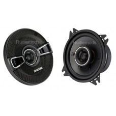 "Kicker 41KSC44 4"" 10cm Coaxial Car Audio Speakers - 75w RMS"